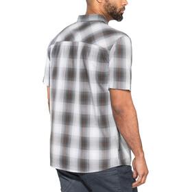 Jack Wolfskin Hot Chili T-shirt Homme, pebble grey checks